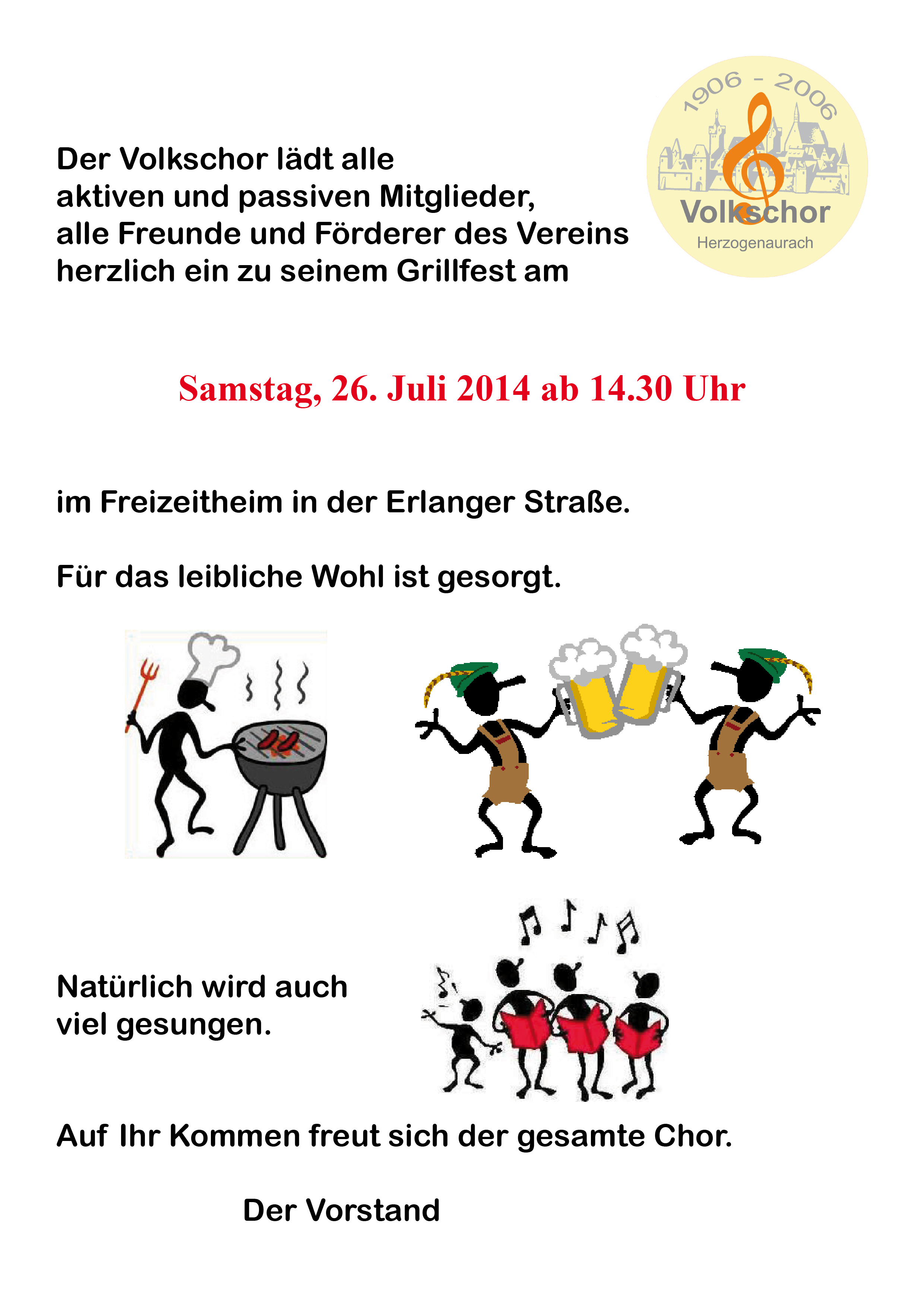 Grillabend 2014